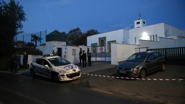 La mosquée de Bayonne, cible d'une attaque qui a fait deux blessés, le 28 octobre 2019 [GAIZKA IROZ / AFP/Archives]