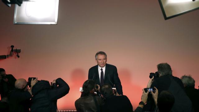 François Bayrou à Paris, le 22 février 2017 [Jacques DEMARTHON / AFP]