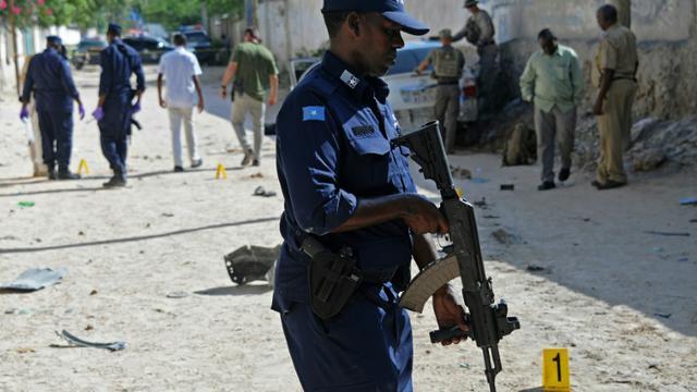 Attentat à la voiture piégée le 3 décembre 2015 à Mogadiscio [MOHAMED ABDIWAHAB / AFP/Archives]