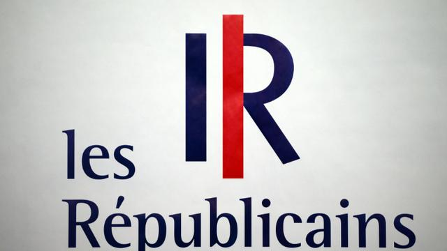 Le logo Les Républicains est présenté le 30 mai 2015 à Paris [Stephane de Sakutin / AFP/Archives]