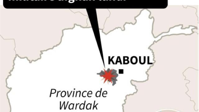 Localisation d'une attaque des talibans contre une base du renseignement militaire  [AFP  / AFP]