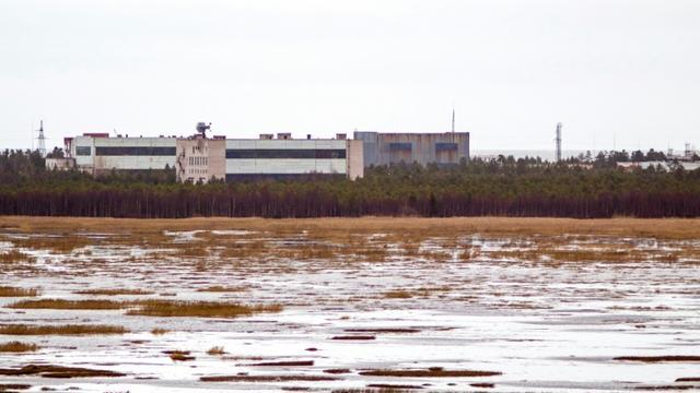 La base de lancement de missiles de Nionoska, le 9 novembre 2011 dans la région d'Arkhangels, dans le Grand Nord russe [- / AFP/Archives]
