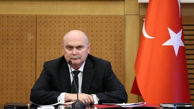 Le ministre turc des Affaires étrangères Feridun Sinirlioglu à Ankara en Turquie, le 16 octobre 2015  [Adem Altan / AFP]