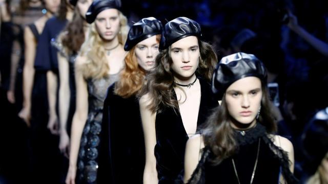 Défilé Dior, le 3 mars 2017 lors de la Fashion Week à Paris [FRANCOIS GUILLOT / AFP]