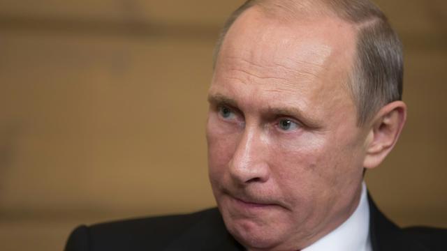 Le président russe Vladimir Poutine à Sotchi, le 22 octobre 2015 [Alexander Zemlianichenko / POOL/AFP/Archives]