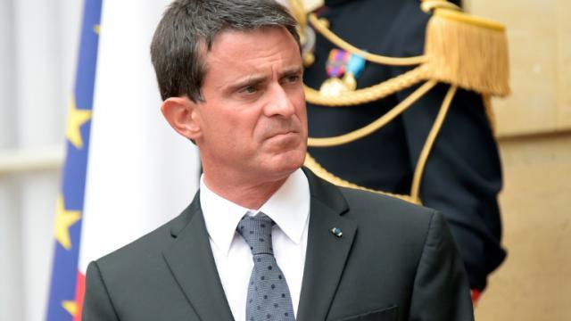 Le Premier ministre  Manuel Valls le 5 septembre 2016 à Matignon à Paris [BERTRAND GUAY / AFP]