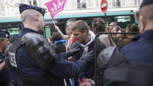Des opposants au mariage pour tous, le 1er juin 2013 à Paris  [Fred Dufour / AFP]