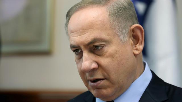 Le Premier ministre israélien Benjamin Netanyahu, le 1er janvier 2017 à Jérusalem [GALI TIBBON / AFP]