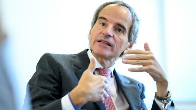 L'Argentin Rafael Mariano Grossi, nommé lundi 2 décembre à la tête de l'AIEA, lors d'un entretien avec l'AFP le 20 septembre 2019 à Vienne [JOE KLAMAR / AFP/Archives]