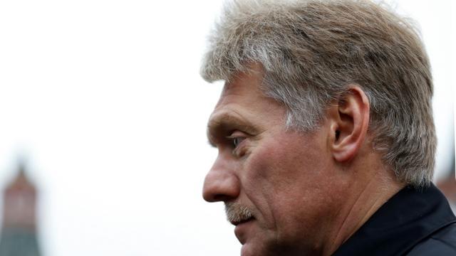 Le porte-parole du Kremlin, Dmitri Peskov, le 4 novembre 2019 à Moscou [EVGENIA NOVOZHENINA / POOL/AFP/Archives]