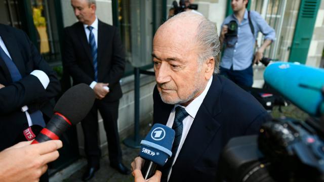L'ex-patron de la Fifa Sepp Blatter, à son arrivée au siège du TAS, le 25 août 2016   [ALAIN GROSCLAUDE / AFP]