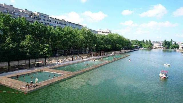 La zone de baignade de la Villette - si elle est votée - devrait être installée mi-juillet 2017.