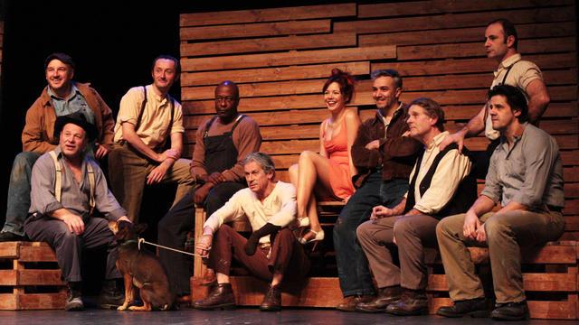 Dix comédiens talentueux reprennent le chef d'œuvre de John Steinbeck