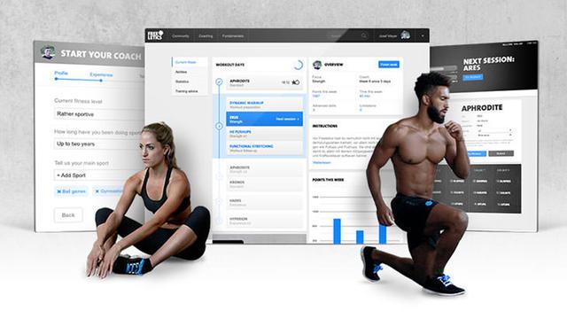 Freeletics est une application proposant des exercices physiques personnalisés.