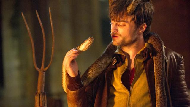"""Daniel Radcliffe dans """"Horns"""", le nouveau film d'Alexandre Aja."""
