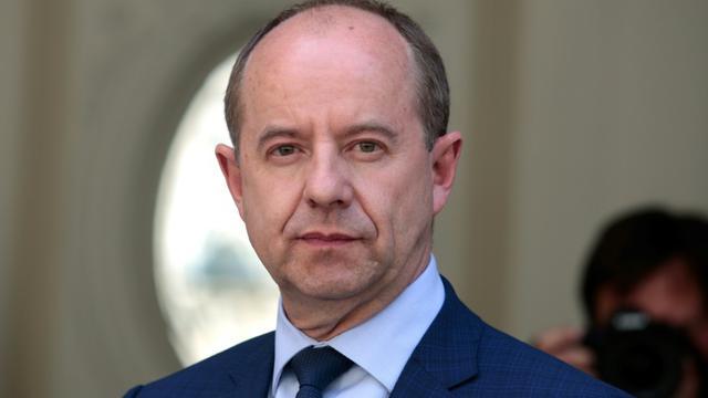 Jean-Jacques Urvoas, photo du 17 mai 2017. [GEOFFROY VAN DER HASSELT / AFP/Archives]