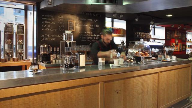 L'expresso & Brew Bar des Comptoirs Richard a ouvert dans le 6e arrondissement de Paris.