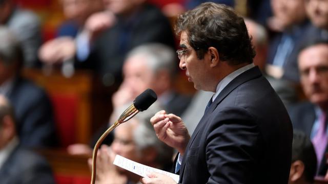 Le chef de file des députés LR Christian Jacob à l'Assemblée nationale à Paris, le 22 mars 2016 [Eric FEFERBERG / AFP/Archives]