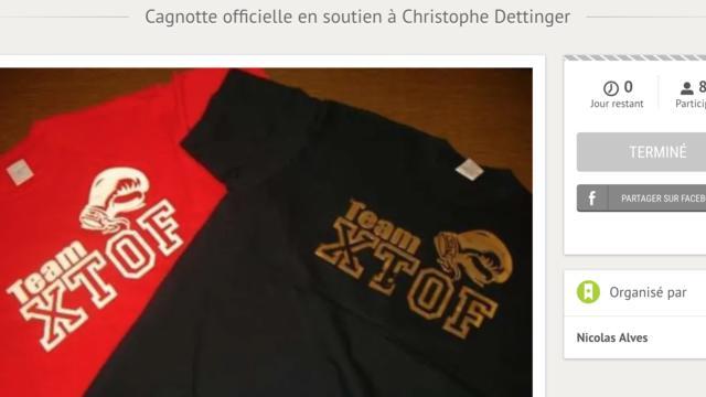 La cagnotte en soutien à Christophe Dettinger, ex-boxeur accusé d'avoir frappé des gendarmes, a été clôturée.