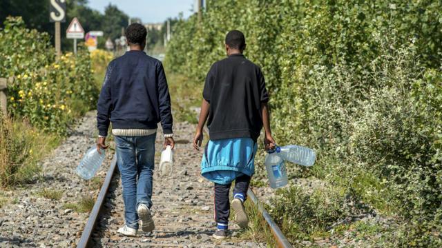 Les migrants sont de plus en plus nombreux à Calais.