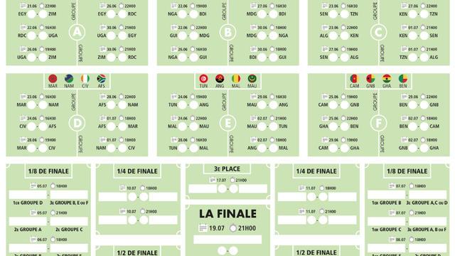 Calendrier Championnat Tunisien.Telechargez Le Calendrier De La Coupe D Afrique Des Nations