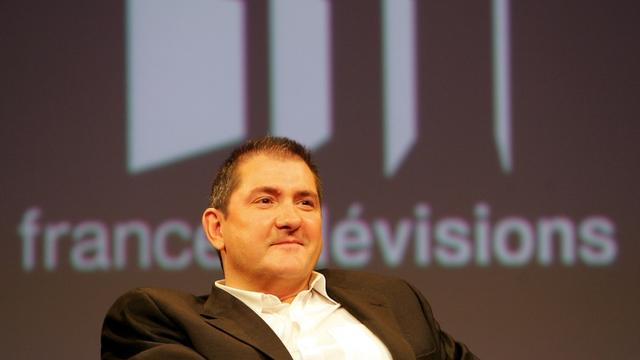 Yves Calvi, présentateur de l'émission Mots croisés