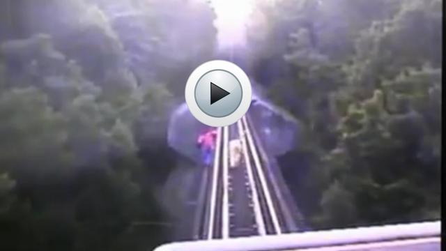 Deux femmes passent sous un train et survivent