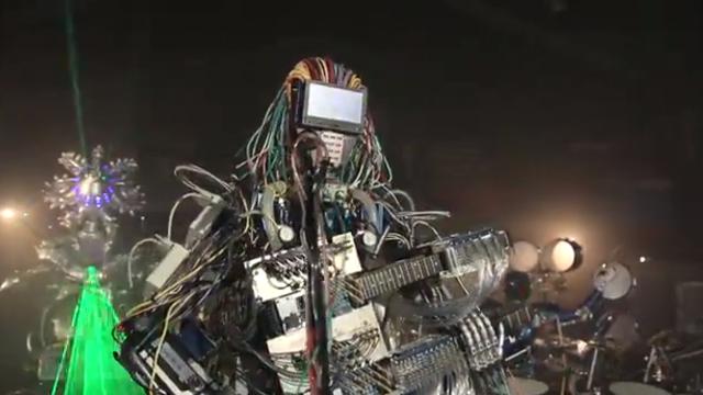 Les Z-Machines, nouveau trio musical de robots hyperbranchés