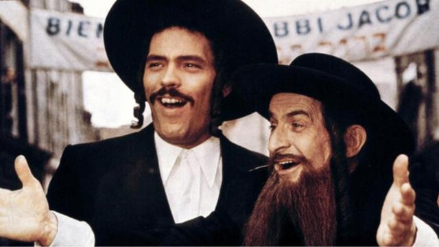 «Les Aventures de Rabbi Jacob» avait été nommé en 1975 au Golden Globe du meilleur film en langue étrangère.