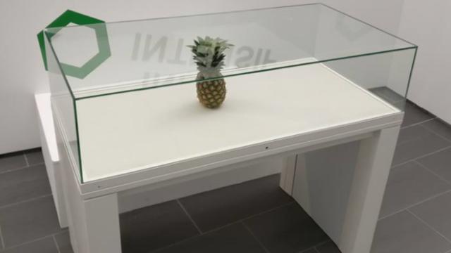 Ananas exposé