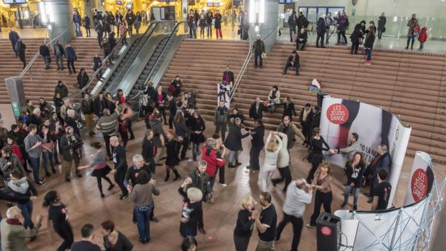 Tous les mois, la RATP organise un grand événement autour de la danse.