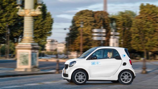 Dans un premier temps, 400 véhicules Car2go seront déployées à Paris.