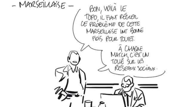 Bastien Vivès aime le foot et le dézingue aussi un peu dans «Le Football» (éd. Delcourt)