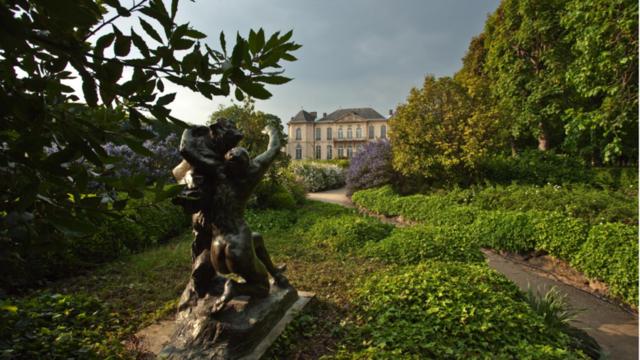 Les jardins du musée Rodin de Paris sont somptueux