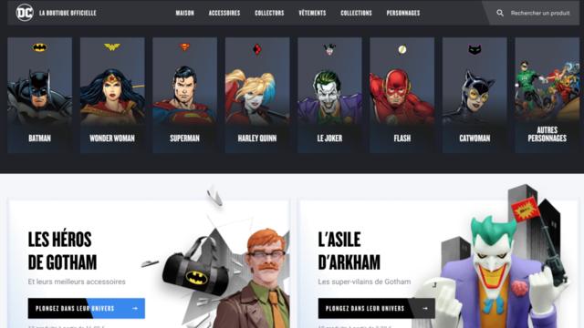 Pour les 80 ans de Batman, une mise en avant du Chevalier Noir sur la boutique aura lieu en septembre prochain.