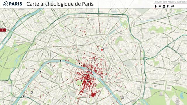 Plus de 1.700 découvertes archéologiques sont à retrouver sur le site.