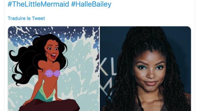 Un déferlement de haine est apparu sur les réseaux sociaux en rapport avec la couleur de peau de la chanteuse, qui selon certains dénature «La Petite sirène».