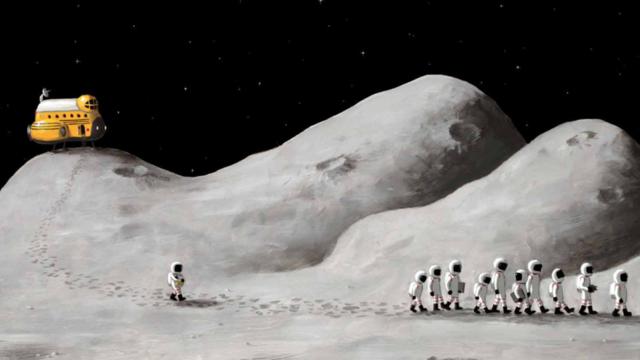 Aller sur la Lune peut s'avérer un jeu d'enfant