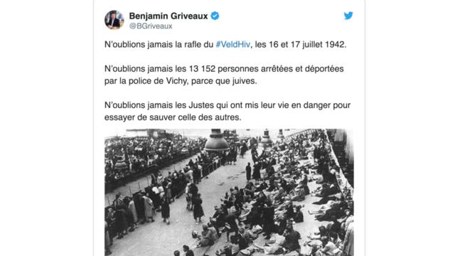 Capture d'écran / Twitter @BGriveaux