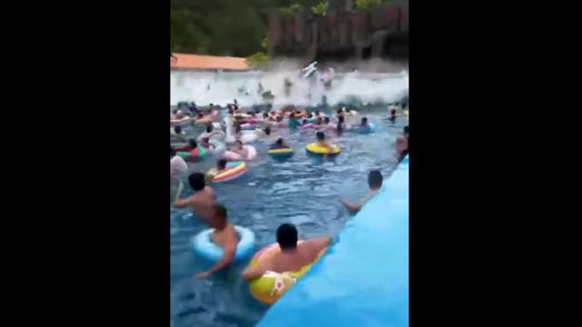 Le porte-parole du parc aquatique a évoqué «une défaillance mécanique».