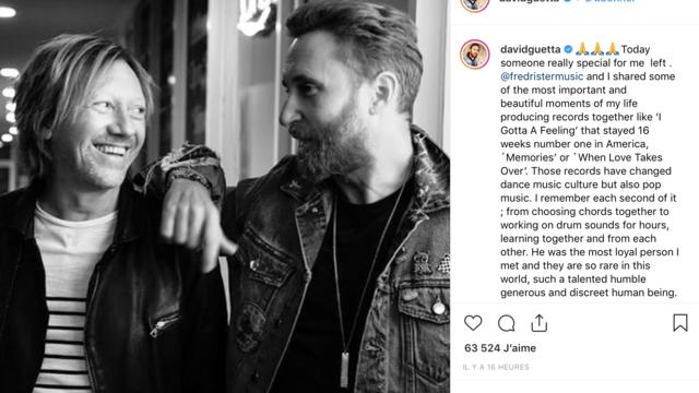 Décédé mardi, Fred Rester était un proche collaborateur de David Guetta, avec qui il a signé plusieurs tubes au succès planétaire.