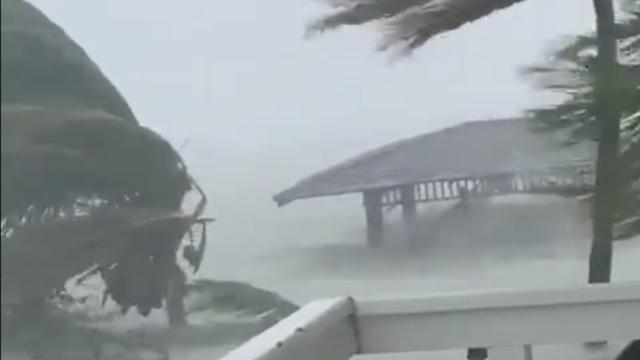 Les dégâts aux Bahamas s'annoncent terrible