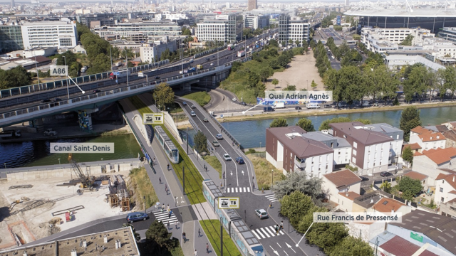 Plusieurs changements sont prévus sur le tracé du tram T8, avec cette perspective de travaux.