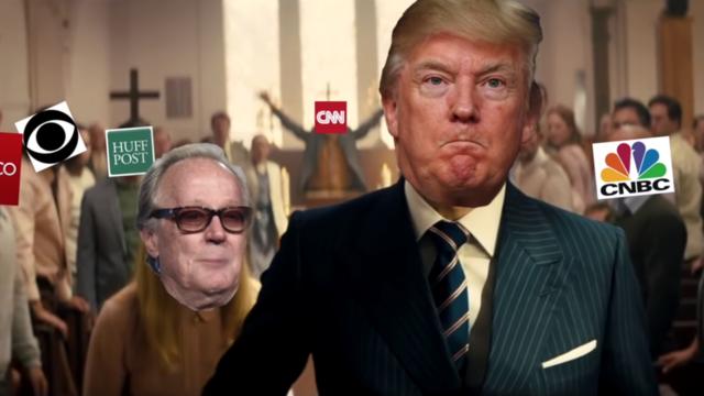 Dans la vidéo, Donald Trump s'en prend, entre autres, au défunt sénateur John McCain