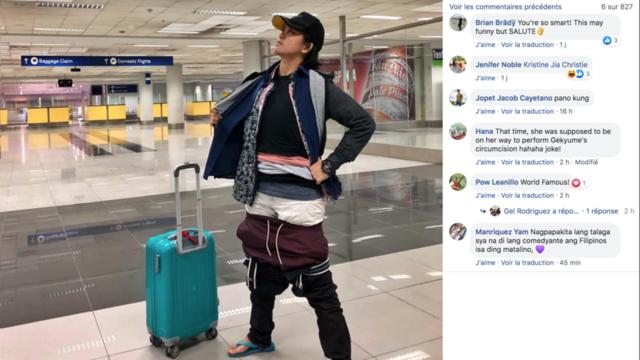 La jeune Philippine a partagé l'astuce sur sa page Facebook.