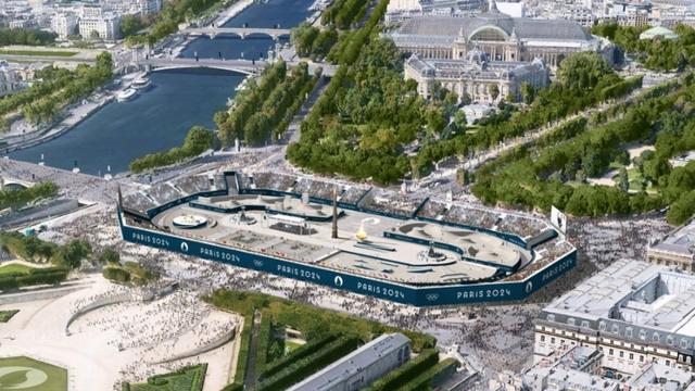 Les épreuves de skateboard et de BMX Freestyle auront notamment lieu sur cette place.