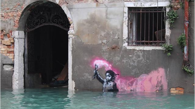 Banksy est devenu l'un des street-artistes vivants les plus chers du monde