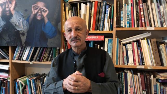 Reza Deghati est exilé depuis le début des années 1980.
