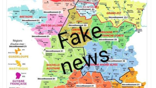 Attention Une Fausse Carte Montrant Les Etapes Du Deconfinement En France Circule Sur Les Reseaux Sociaux Cnews
