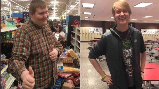 Pesant 150 kg il y a trois ans, Michael Watson ne fait maintenant plus que 100 kg.